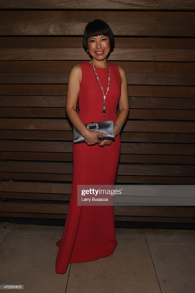 Angelica Cheung attends Michael Kors and iTunes After Party at The Mark Hotel on May 4 2015 in New York City