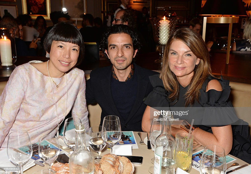 Angelica Cheung Business of Fashion founder and editorinchief Imran Amed and Natalie Massenet attend The Business of Fashion celebrating the #BOF500...