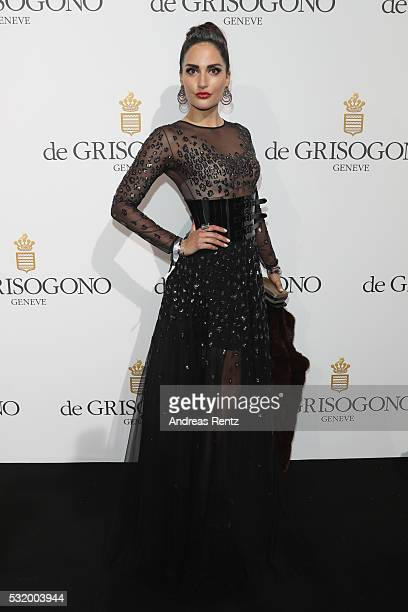 Angelica Donati attends the De Grisogono Party during the annual 69th Cannes Film Festival at Hotel du CapEdenRoc on May 17 2016 in Cap d'Antibes...