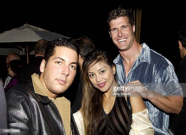 Angelica Rivera Joel Crandall during Cannes 2002 Hollywood Yacht Hosts Party for Splendid Pictures Sponsored by Hollywood Celebrity Diet at The...