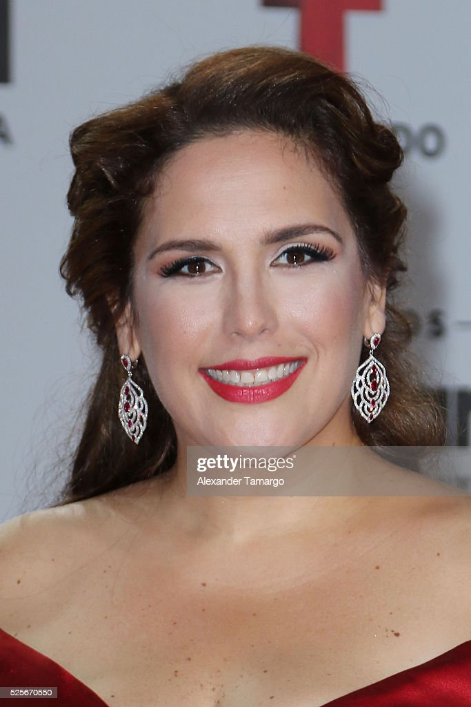 Angelica Vale attends the Billboard Latin Music Awards at Bank United Center on April 28, 2016 in Miami, Florida.