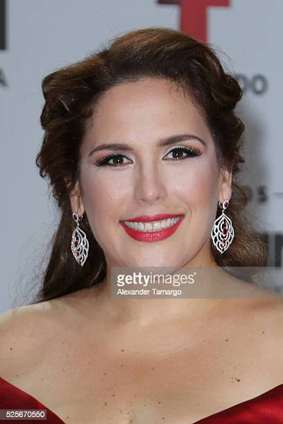 Angelica Vale attends the Billboard Latin Music Awards at Bank United Center on April 28 2016 in Miami Florida