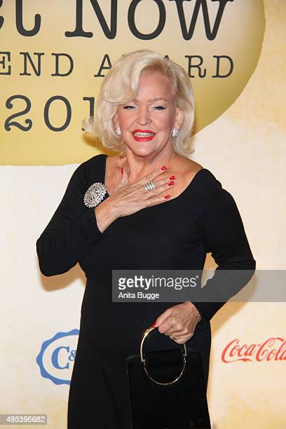 Angelika Milster attends the '1st Act Now Jugend Award' at FriedrichstadtPalast on November 2 2015 in Berlin Germany