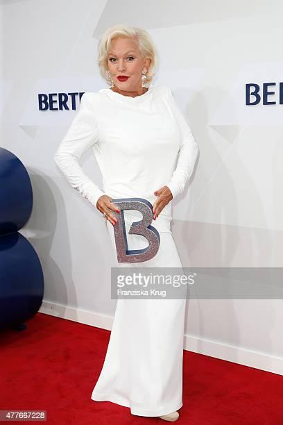 Angelika Milster attends the Bertelsmann Summer Party on June 18 2015 in Berlin Germany