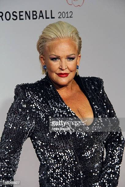 Angelika Milster attends the 'Rosenball' at Hotel Intercontinental on June 9 2012 in Berlin Germany