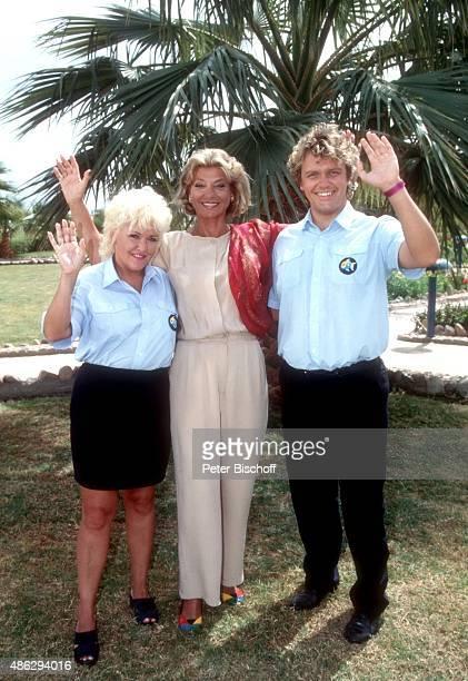 'Angelika Milster Judy Winter Hape Kerkeling ARDReihe ''Wilde Herzen'' Folge ''Club las Piranhas'' am im ''Sonesta Beach Resort Hotel'' in Hurghada...