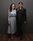 Angelina Jolie and Brad Pitt attend an official Academy Screening of BY THE SEA hosted by The Academy Of Motion Picture Arts And Sciences on November...