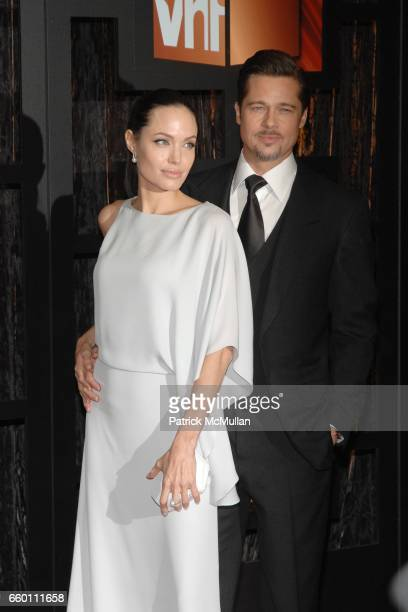Angelina Jolie and Brad Pitt attend The 14th Annual Critics' Choice Awards at Santa Monica Civic Center on January 8 2009 in Santa Monica California