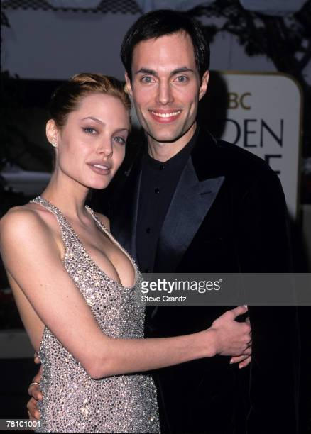 Angelina Jolie and Brother James Haven