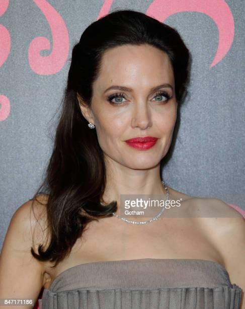 Angelina Jolie arrives at the New York Premiere of 'First They Killed My Father' at DGA theater on September 14 2017 in New York City