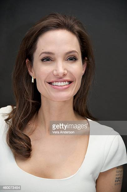 Angelina Jolie at the 'Unbroken' Press Conference at the Mandarin Oriental Hotel on December 4 2014 in New York City