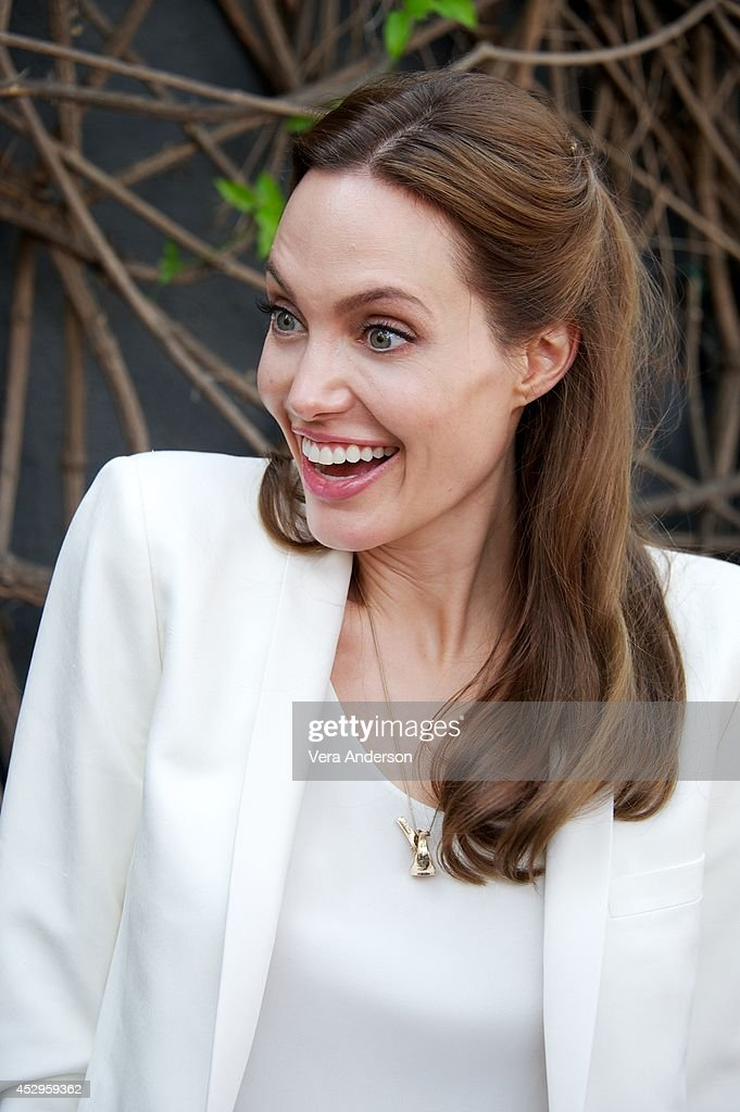 <a gi-track='captionPersonalityLinkClicked' href=/galleries/search?phrase=Angelina+Jolie&family=editorial&specificpeople=201591 ng-click='$event.stopPropagation()'>Angelina Jolie</a> at the 'Unbroken' Press Conference at Universal Studios Hollywood on July 29, 2014 in Universal City, California.