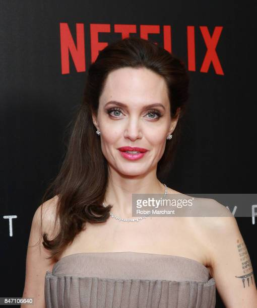 Angelina Jolie attends 'First They Killed My Father' New York Premiere at DGA Theater on September 14 2017 in New York City