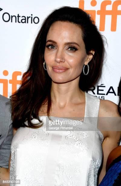 Angelina Jolie attends 'The Breadwinner' premiere during the 2017 Toronto International Film Festival at Winter Garden Theatre on September 10 2017...