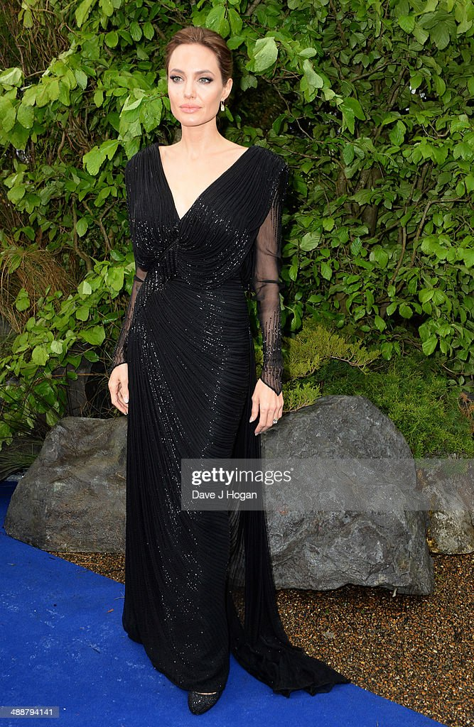 <a gi-track='captionPersonalityLinkClicked' href=/galleries/search?phrase=Angelina+Jolie&family=editorial&specificpeople=201591 ng-click='$event.stopPropagation()'>Angelina Jolie</a> attends the 'Maleficent' Costume And Props Private Reception at Kensington Palace on May 8, 2014 in London, England.