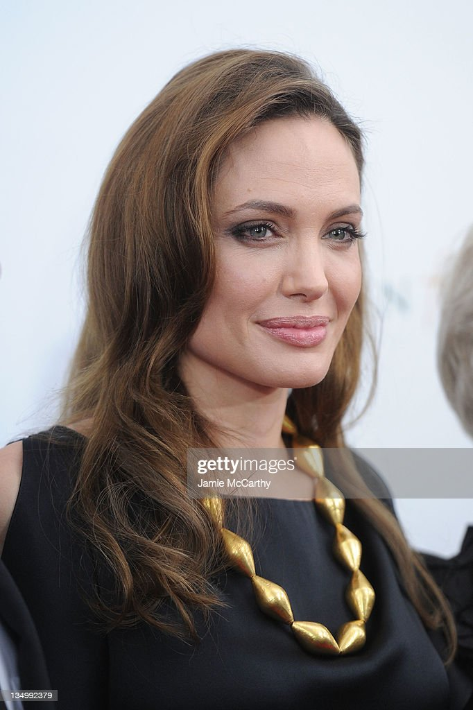 Angelina Jolie attends the premiere of 'In the Land of Blood and Honey' at the School of Visual Arts on December 5, 2011 in New York City.