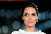 Angelina Jolie attends the UK Premiere of 'Unbroken' at Odeon Leicester Square on November 25 2014 in London England