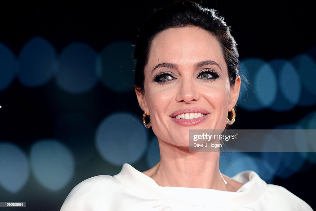 <a gi-track='captionPersonalityLinkClicked' href=/galleries/search?phrase=Angelina+Jolie&family=editorial&specificpeople=201591 ng-click='$event.stopPropagation()'>Angelina Jolie</a> attends the UK Premiere of 'Unbroken' at Odeon Leicester Square on November 25, 2014 in London, England.