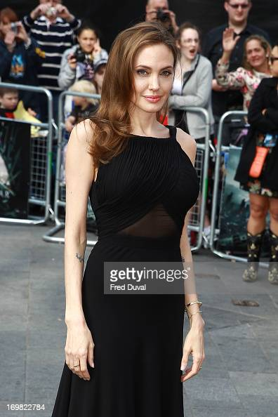 Angelina Jolie attends the World War Z world premiere at the Empire Leicester Square on June 2 2013 in London England