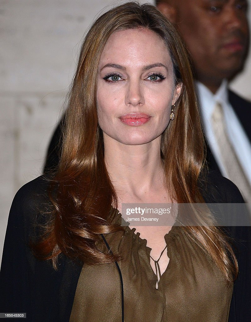 <a gi-track='captionPersonalityLinkClicked' href=/galleries/search?phrase=Angelina+Jolie&family=editorial&specificpeople=201591 ng-click='$event.stopPropagation()'>Angelina Jolie</a> attends Women in the World Summit 2013 on April 4, 2013 in New York City.