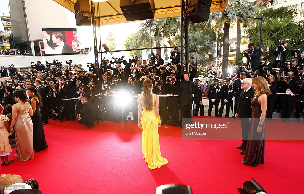 Angelina Jolie during 2007 Cannes Film Festival - 'Ocean's Thirteen' Premiere at Palais des Festivals in Cannes, France.