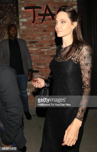 Angelina Jolie is seen on May 14 2017 in Los Angeles CA