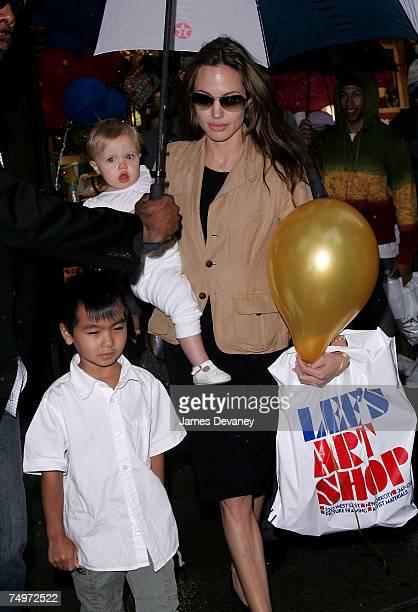 Angelina Jolie Maddox and Shiloh