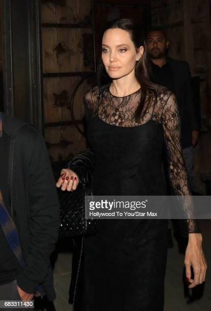 Angelina Jolie seen on May 14 2017 in Los Angeles CA