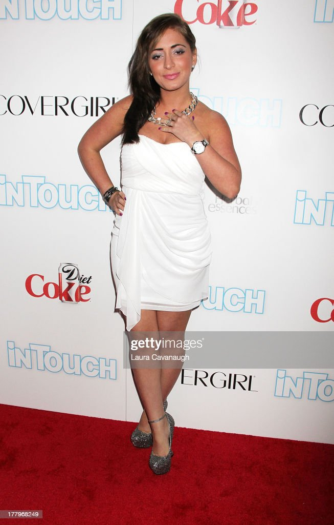<a gi-track='captionPersonalityLinkClicked' href=/galleries/search?phrase=Angelina+Pivarnick&family=editorial&specificpeople=6692433 ng-click='$event.stopPropagation()'>Angelina Pivarnick</a> attends In Touch Weekly's 2013 Icons & Idols event at FINALE Nightclub on August 25, 2013 in New York City.