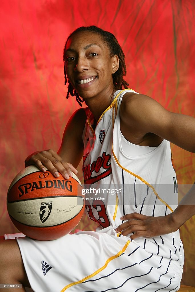 Angelina Williams of the Indiana Fever poses for a portrait during the WNBA Media Day on May 8 2008 in Indianapolis Indiana NOTE TO USER User...