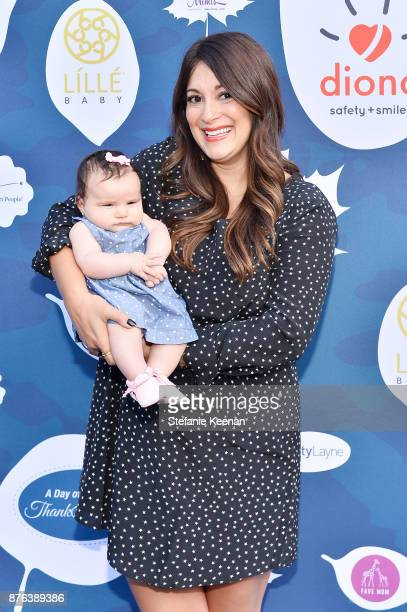 Angelique Cabral attends Diono Presents Inaugural A Day of Thanks and Giving Event at The Beverly Hilton Hotel on November 19 2017 in Beverly Hills...