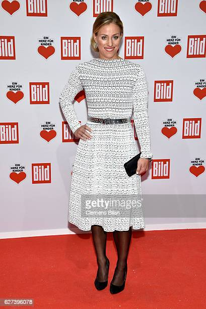 Angelique Kerber attends the Ein Herz Fuer Kinder Gala 2016 on December 3 2016 in Berlin Germany