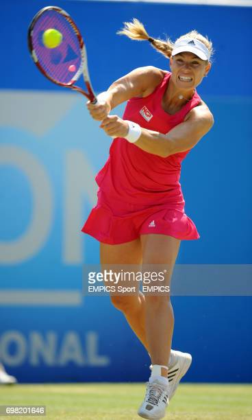 Angelique Kerber in action against Madison Keys