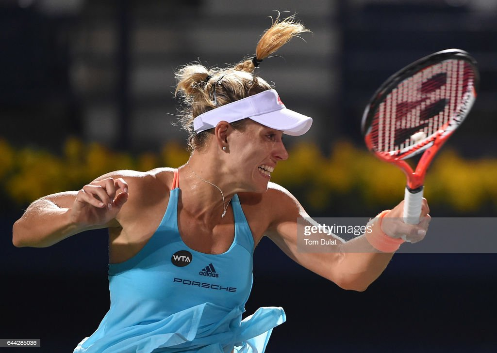 WTA Dubai Duty Free Tennis  Championship - Day Five : News Photo