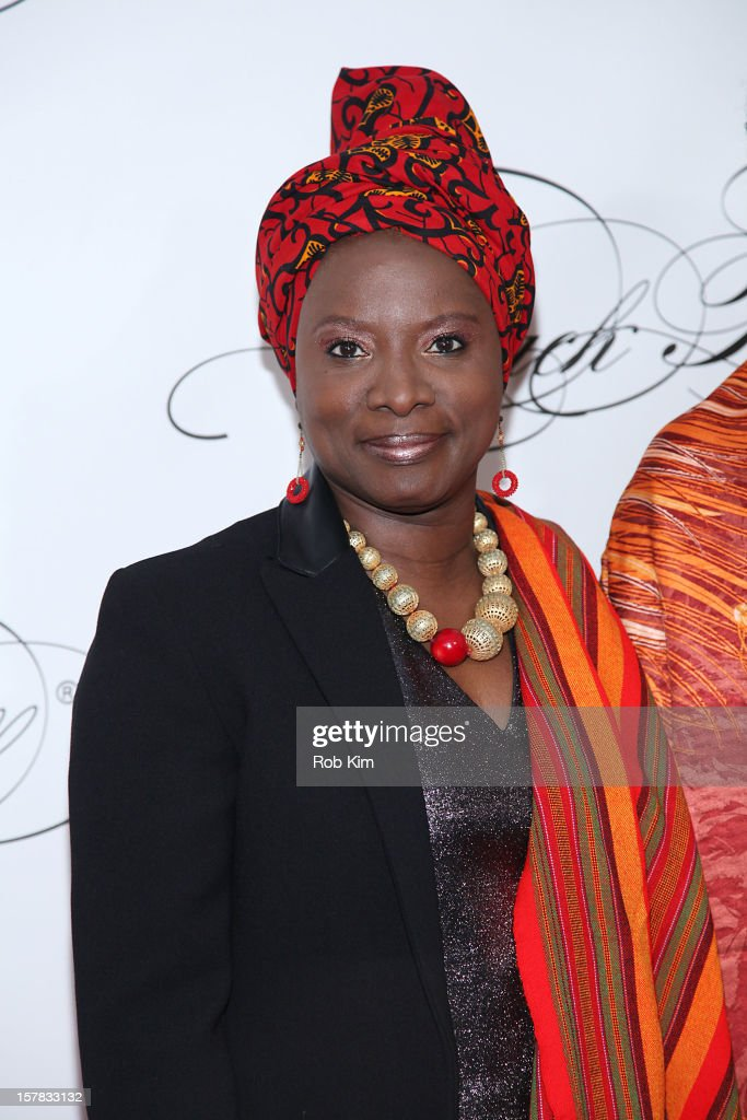 Angelique Kidjo attends the Keep A Child Alive's Black Ball Redux 2012 at The Apollo Theater on December 6, 2012 in New York City.