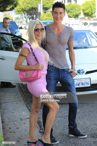Angelique Morgan and Justin Jedlica are seen on October 11 2017 in Los Angeles California