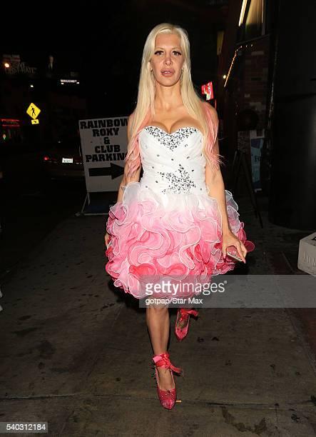 Angelique Morgan is seen on June 14 2016 in Los Angeles California