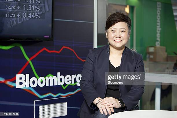 Angelita Teo director of the National Museum of Singapore sits for a photograph following a Bloomberg Television interview in Singapore on Thursday...