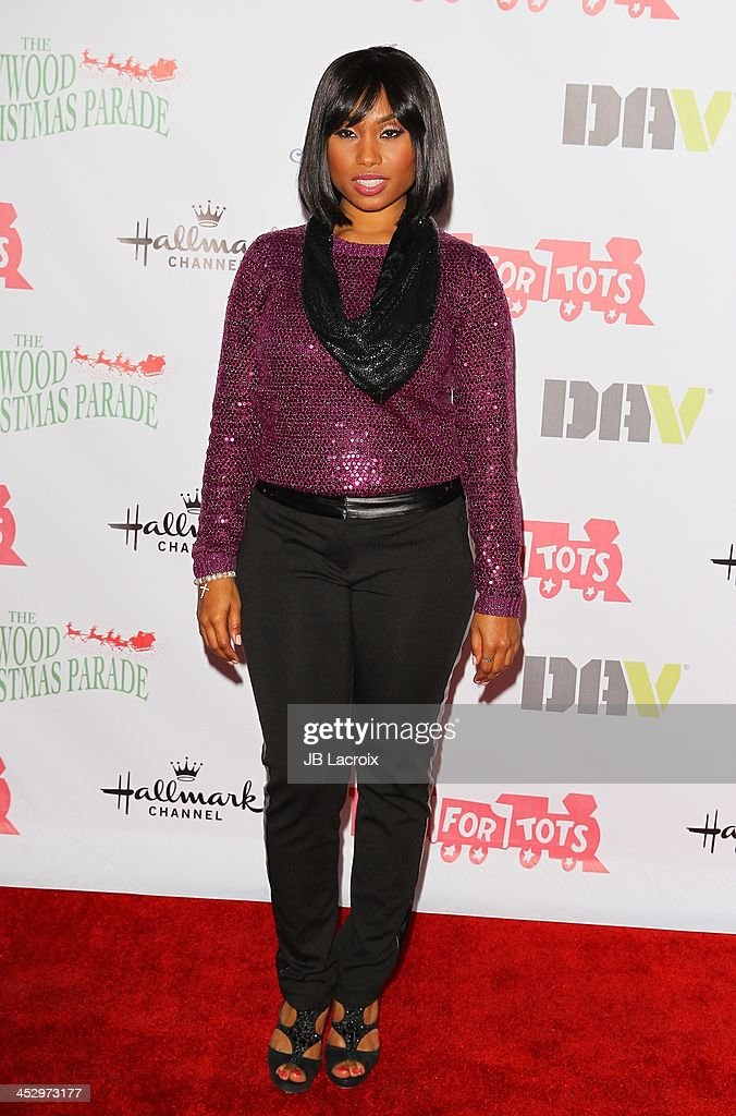 Angell Conwell attends the Hollywood Christmas Parade benefiting Toys For Tots foundation on December 1, 2013 in Hollywood, California.