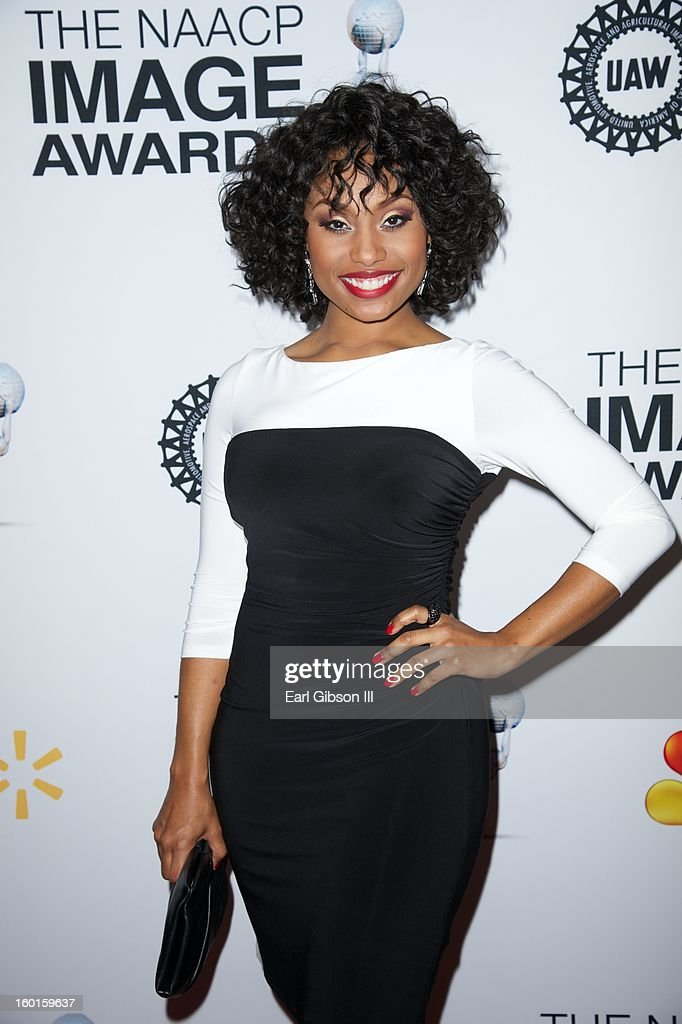 Angell Conwell attends the NAACP Image Awards Nominee's Luncheon at Montage Beverly Hills on January 26, 2013 in Beverly Hills, California.