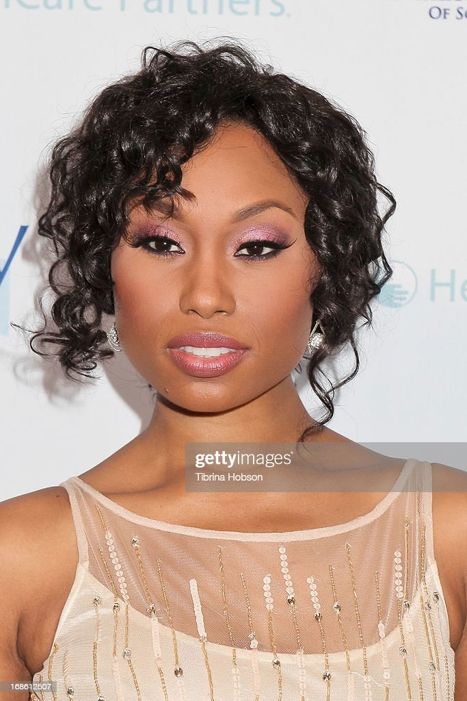 Angell Conwell attends the 'Shall We Dance' annual gala for the coalition for at-risk youth at The Beverly Hilton Hotel on May 11, 2013 in Beverly Hills, California.