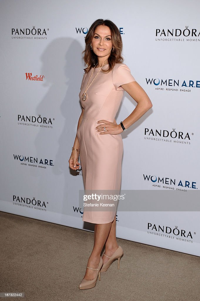 Angella Nazarian attends WOMEN A.R.E Inaugural Summit Presented By PANDORA at SLS Hotel on November 7, 2013 in Beverly Hills, California.