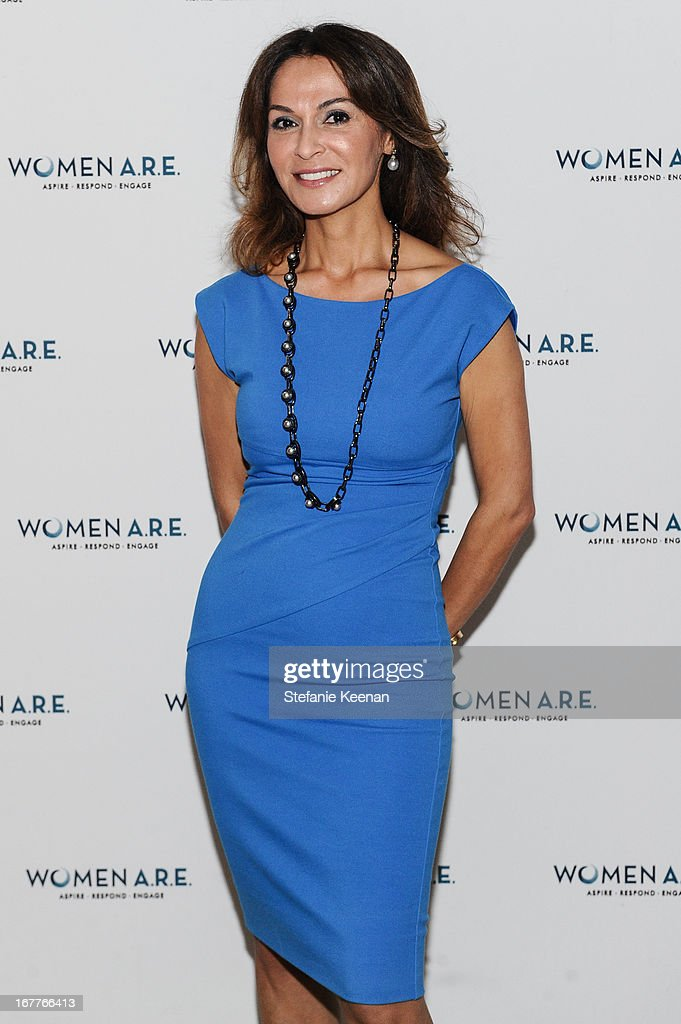 Angella Nazarian attends Women A.R.E. Salon Event Featuring Home Shopping Network's CEO Mindy Grossman at SLS Hotel on April 29, 2013 in Beverly Hills, California.