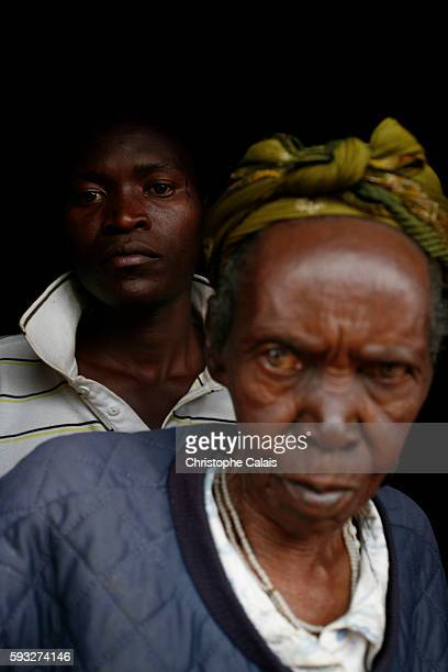 Angelo and his maternal grandmother Marguerite 85 They were together in a refugee camp in Zaïre At the end of 1994 the Hutu militiamen responsible...