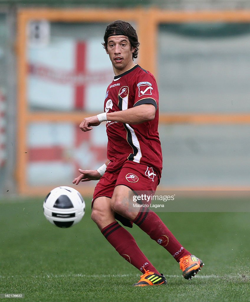 Angelo Antonazzo of Reggina during the Serie B match between Reggina Calcio and Calcio Padova on February 16, 2013 in Reggio Calabria, Italy.