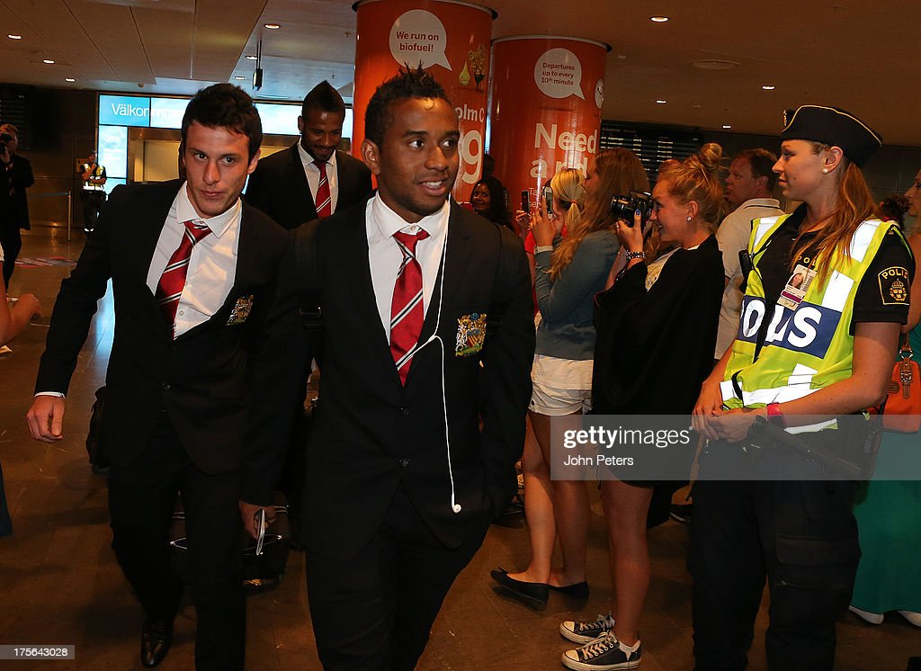 Manchester United Travel to Sweden
