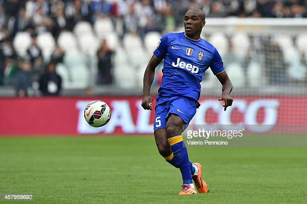 Angelo Ogbonna of Juventus FC in action during the Serie A match between Juventus FC and US Citta di Palermo at Juventus Arena on October 26 2014 in...