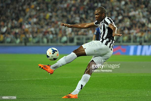 Angelo Ogbonna of Juventus in action during the Serie A match between Juventus and Atalanta BC at Juventus Arena on May 5 2014 in Turin Italy