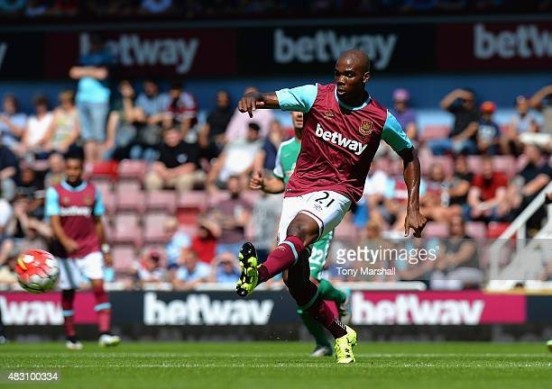 Angelo Ogbonna of West Ham United during the Betway Cup match between West Ham Utd and SV Werder Bremen at Boleyn Ground on August 2 2015 in London...