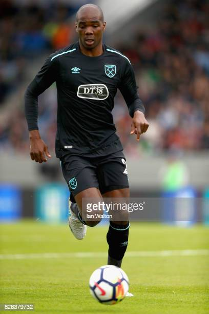 Angelo Ogbonna of West Ham United in action during a Pre Season Friendly between Manchester City and West Ham United at the Laugardalsvollur stadium...